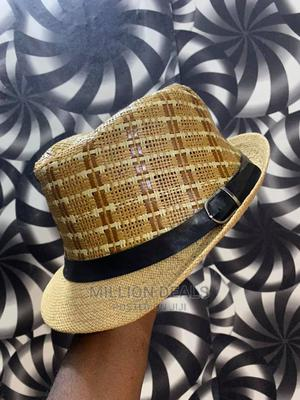 Men's Ribbon Luxury Sun Hat | Clothing Accessories for sale in Lagos State, Ikorodu
