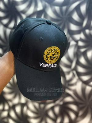 Men's Black Cotton Luxury Base Ball Cap   Clothing Accessories for sale in Lagos State, Ikorodu