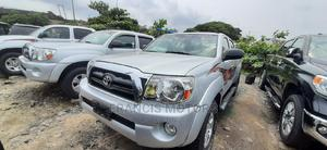 Toyota Tacoma 2008 4x4 Double Cab Silver | Cars for sale in Lagos State, Apapa
