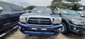 Toyota Tacoma 2008 4x4 Double Cab Blue | Cars for sale in Lagos State, Apapa
