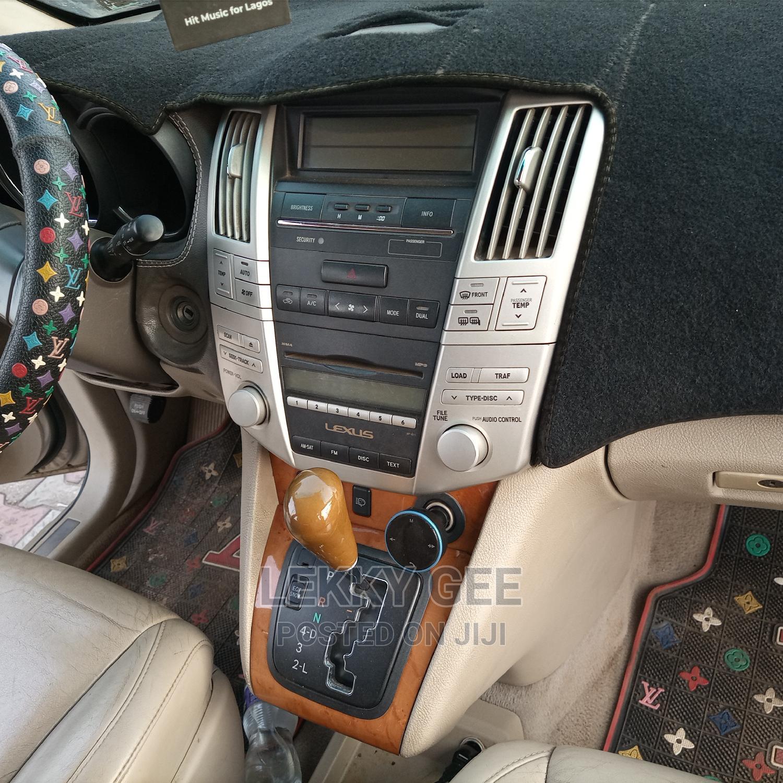 Archive: Lexus RX 2007 350 Gold