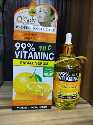 O'Carly 99% Vitamin C + HA Anti-Aging,Freckles Facial Serum   Skin Care for sale in Lagos State, Amuwo-Odofin