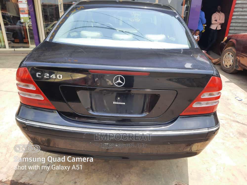 Mercedes-Benz C240 2003 Black | Cars for sale in Ibadan, Oyo State, Nigeria