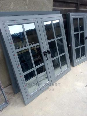 Gray Casement Window Without Net | Windows for sale in Lagos State, Abule Egba
