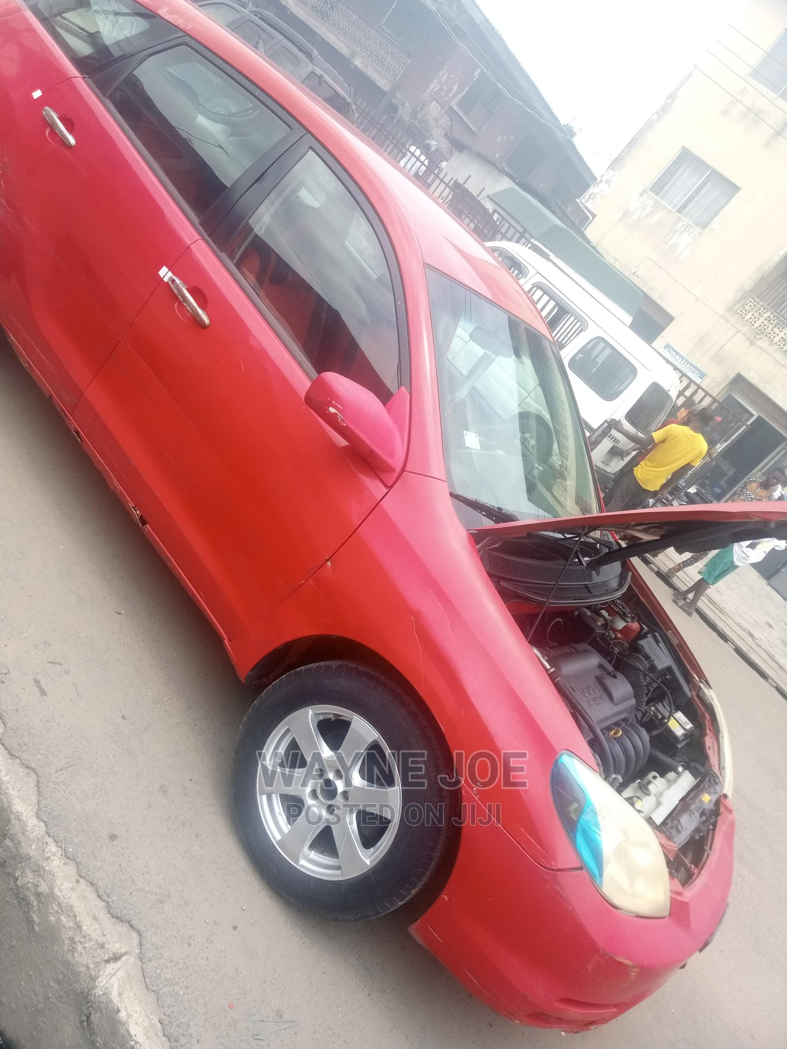 Archive: Toyota Matrix 2006 Red