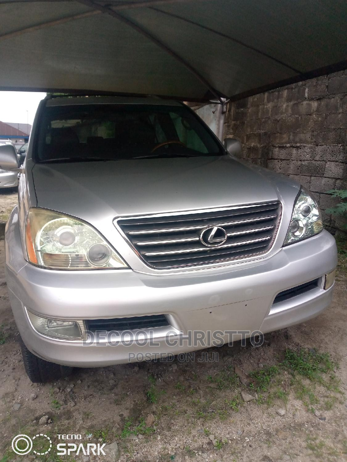 Lexus GX 2008 470 Silver | Cars for sale in Port-Harcourt, Rivers State, Nigeria