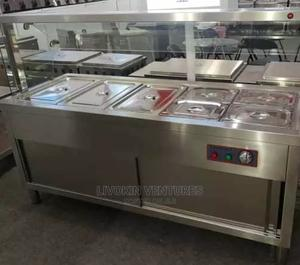 Standing Bain Marie 5 Plates Imported | Restaurant & Catering Equipment for sale in Lagos State, Ojo