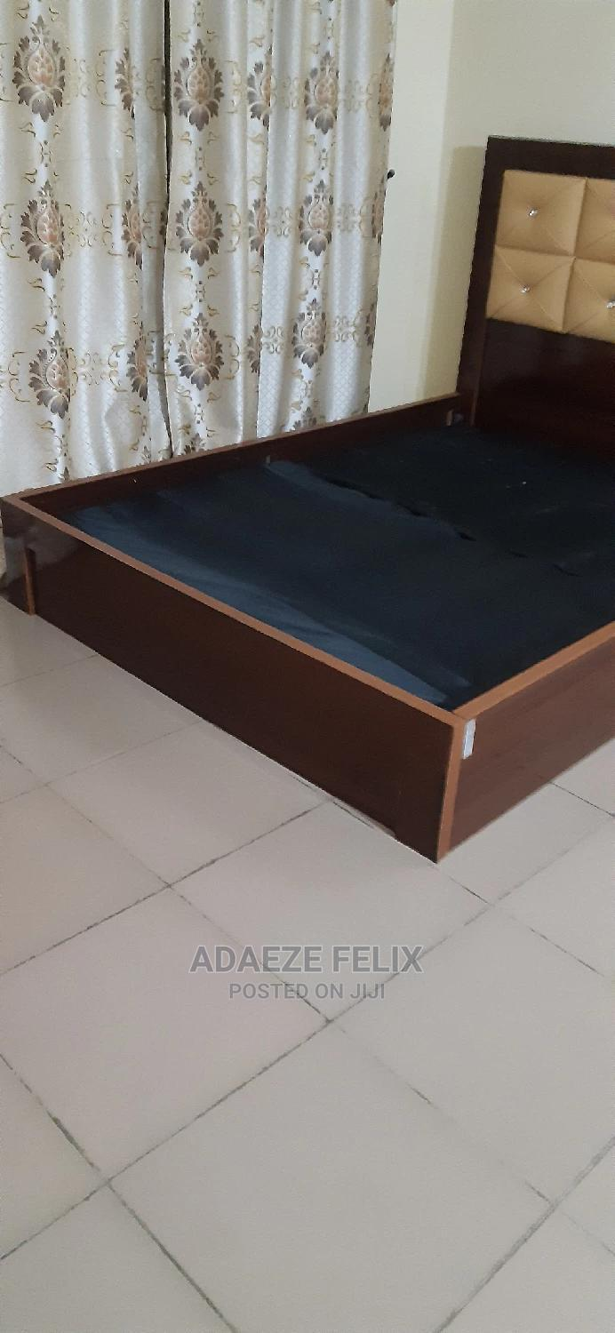 Archive: Just Few Months Used 4.5 by 6 Bed Frame and Side Stool