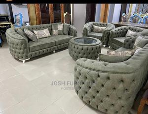 Set of Sofa Chair and Centre Table | Furniture for sale in Lagos State, Isolo