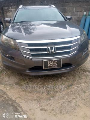 Honda Accord CrossTour 2013 EX-L W/Navigation Gray   Cars for sale in Rivers State, Port-Harcourt