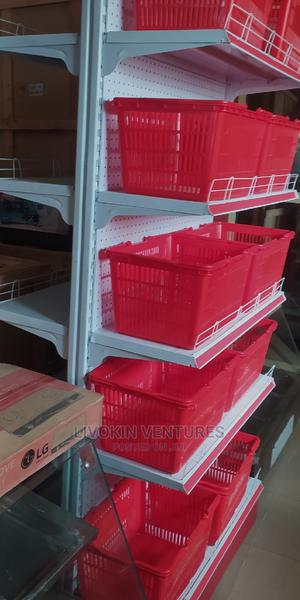 Double Face Supermarket Shelf | Store Equipment for sale in Lagos State, Ojo