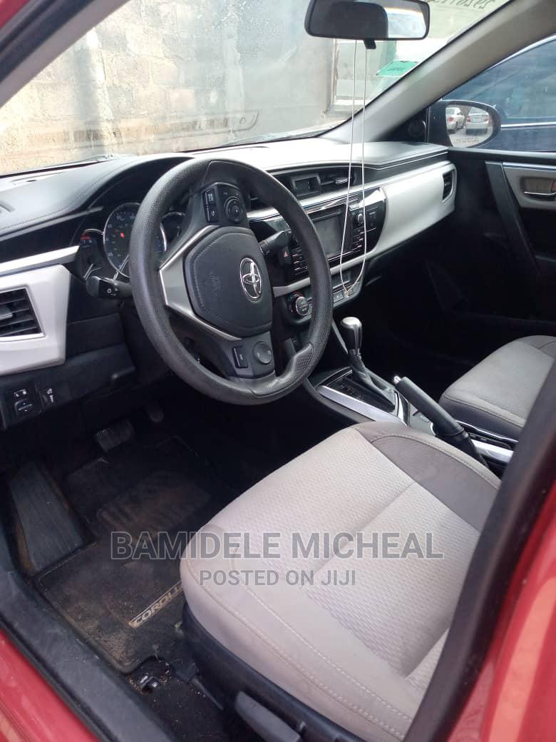 Toyota Corolla 2015 Red | Cars for sale in Ibadan, Oyo State, Nigeria