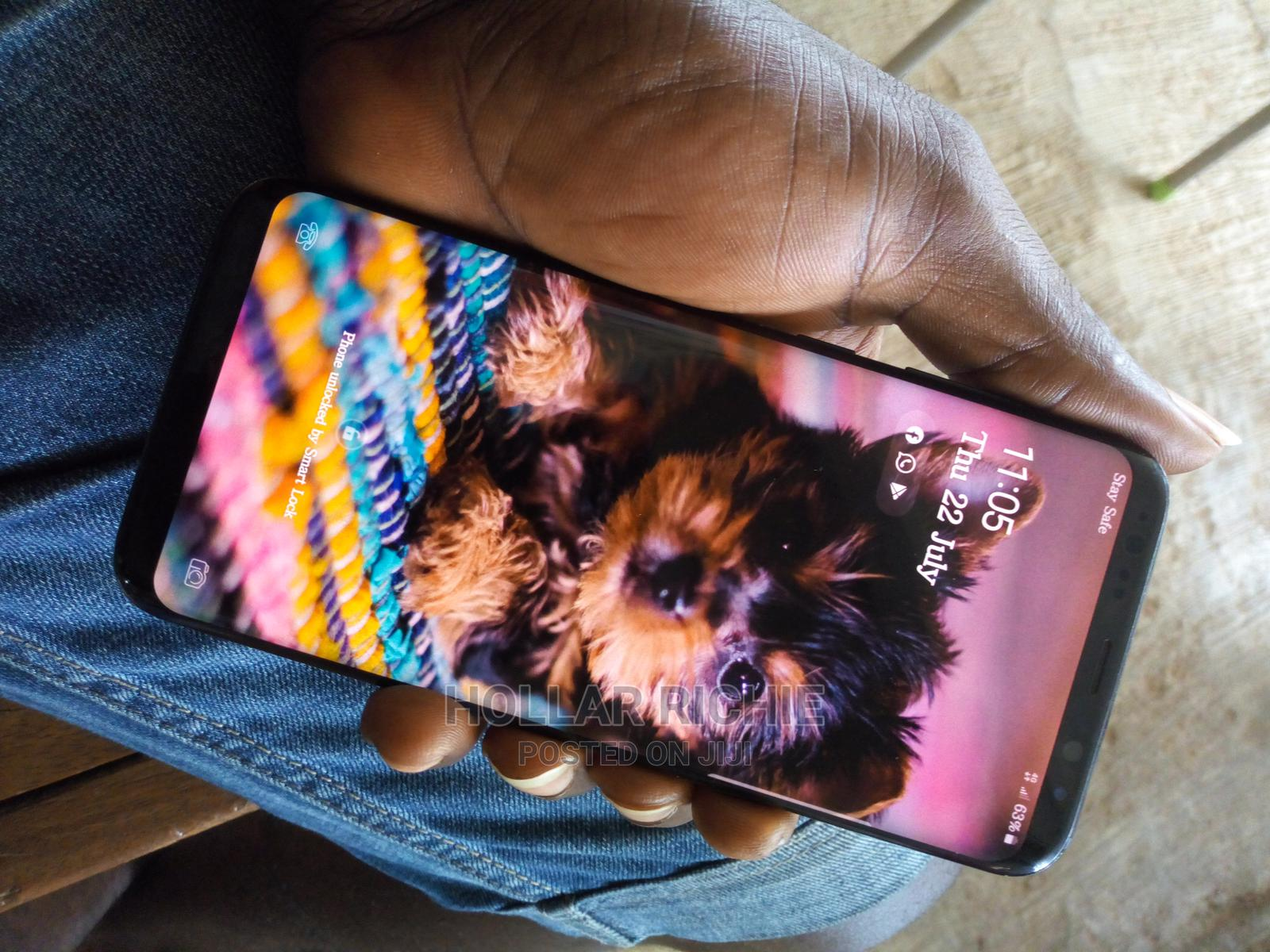 Samsung Galaxy S8 Plus 64 GB Black   Mobile Phones for sale in Akungba, Ondo State, Nigeria