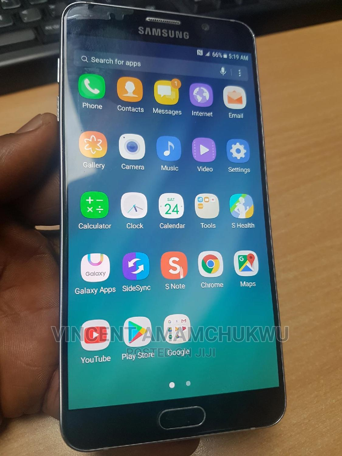 Samsung Galaxy Note 5 32 GB Blue | Mobile Phones for sale in Oshimili South, Delta State, Nigeria