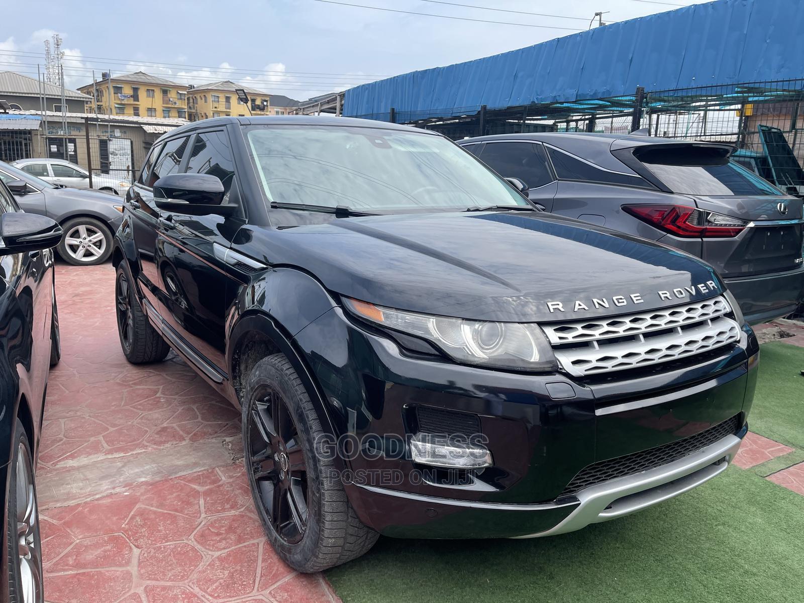 Land Rover Range Rover Evoque 2013 Black
