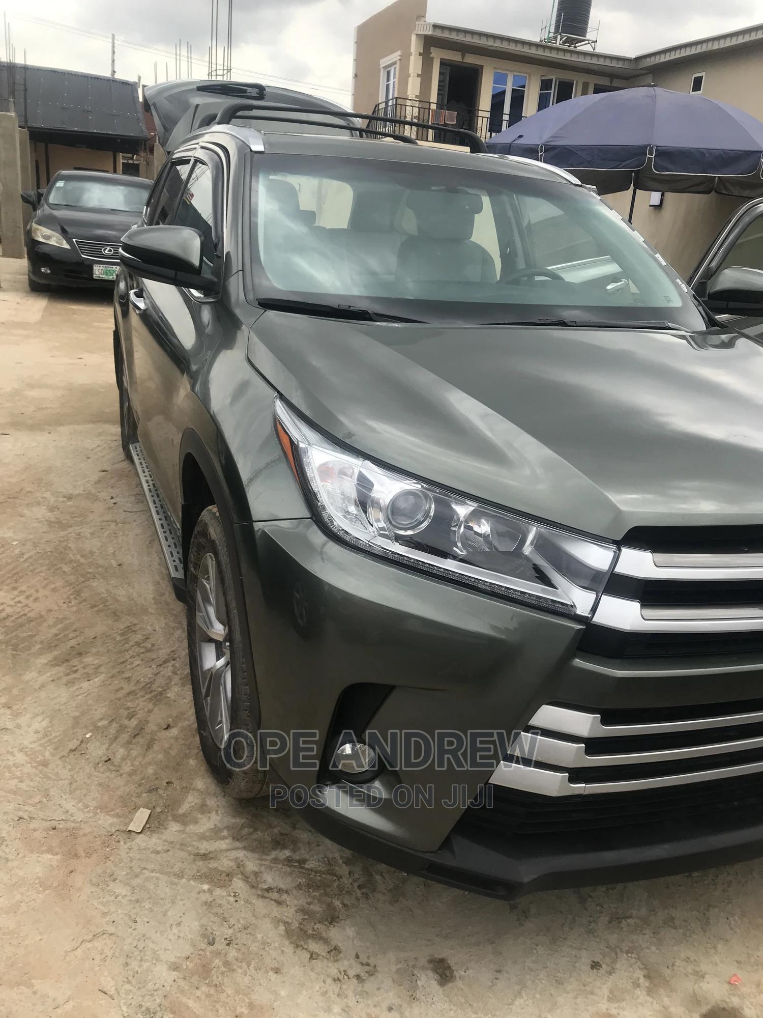 Toyota Highlander 2015 Green | Cars for sale in Oluyole, Oyo State, Nigeria