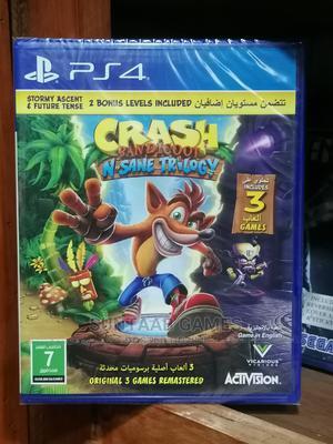 Crash Bandicoot N.Sane Trilogy-Ps4 | Video Games for sale in Lagos State, Lagos Island (Eko)