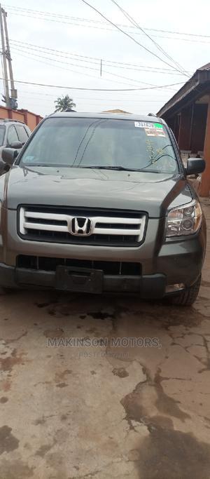 Honda Pilot 2008 EX 4x4 (3.5L 6cyl 5A) Gray | Cars for sale in Ekiti State, Ado Ekiti