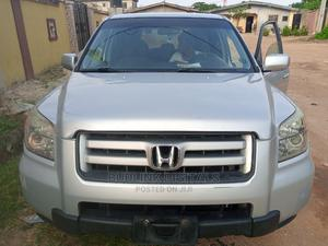 Honda Pilot 2006 LX 4x4 (3.5L 6cyl 5A) Silver | Cars for sale in Lagos State, Alimosho