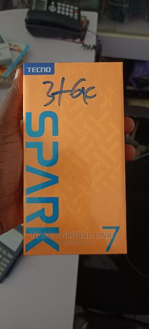 New Tecno Spark 7 64 GB Black   Mobile Phones for sale in Abuja (FCT) State, Gwarinpa