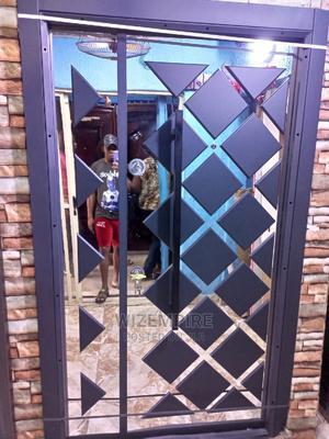 4ft Mirror Turkish Luxury Door Available   Doors for sale in Lagos State, Orile