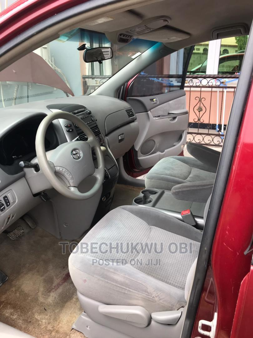 Toyota Sienna 2006 Red   Cars for sale in Amuwo-Odofin, Lagos State, Nigeria