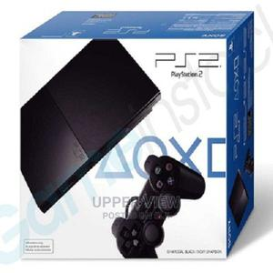 Sony Playstation 2 Slim Console + 2pads With 20 Games | Video Game Consoles for sale in Lagos State, Oshodi