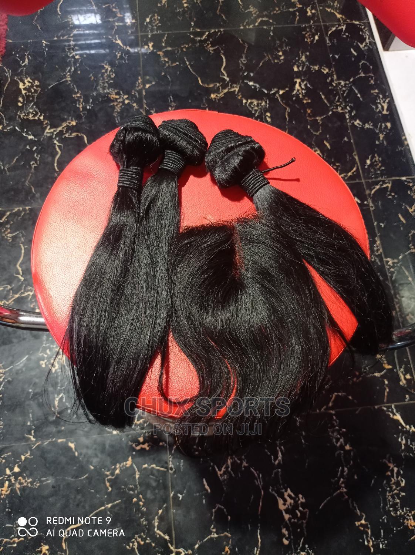 Pure Human Hair Straight 14inches 14