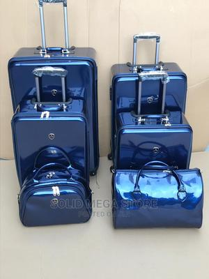 Mirror Face Leather Trolley Luggage Box   Bags for sale in Lagos State, Lagos Island (Eko)