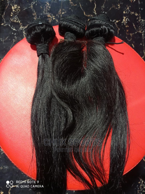 Pure Human Hair Straight 14inches