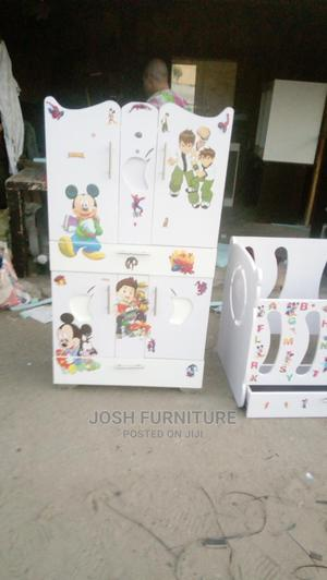 3by5ft Baby Wardrobe | Children's Furniture for sale in Lagos State, Isolo