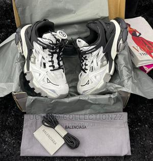 BALENCIAGA TRACK 2 Nylon, Mesh and Rubber Sneakers   Shoes for sale in Lagos State, Lagos Island (Eko)