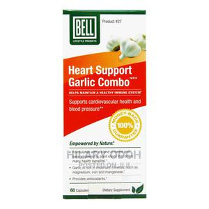 Bell Heart Support Garlic Combo | Vitamins & Supplements for sale in Lagos State, Ojo
