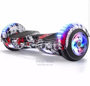 Balance Wheel Bluetooth Hoverboard Scooter White Newspaper | Sports Equipment for sale in Lagos State, Ikeja