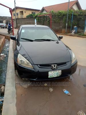 Honda Accord 2005 Black | Cars for sale in Lagos State, Ifako-Ijaiye