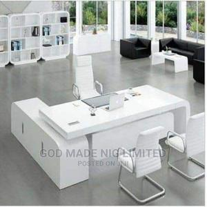 Quality White Executive Office Table Only | Furniture for sale in Lagos State, Ojo