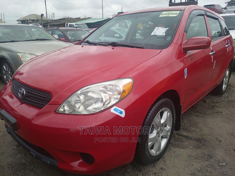 Toyota Matrix 2006 Red   Cars for sale in Apapa, Lagos State, Nigeria