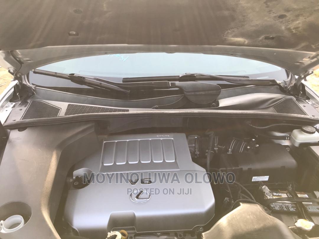 Archive: Lexus RX 2007 350 Silver