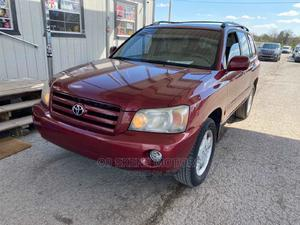 Toyota Highlander 2007 Red   Cars for sale in Lagos State, Isolo