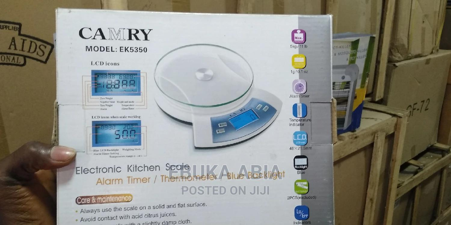 Archive: Camry Digital Scale 5kg