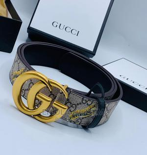 High Quality Designer Leather Belts Gucci Available for U   Clothing Accessories for sale in Lagos State, Lagos Island (Eko)