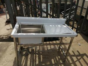 Single Sink With Side | Restaurant & Catering Equipment for sale in Lagos State, Ojo