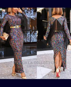 Quality Turkey Sequence Dinner Long Gown   Clothing for sale in Lagos State, Ogba