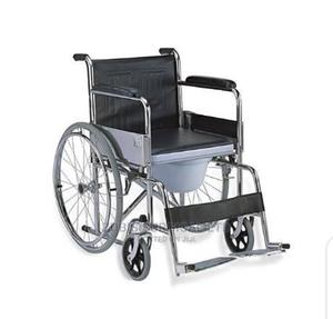 Commode Wheel Chair | Medical Supplies & Equipment for sale in Lagos State, Lagos Island (Eko)