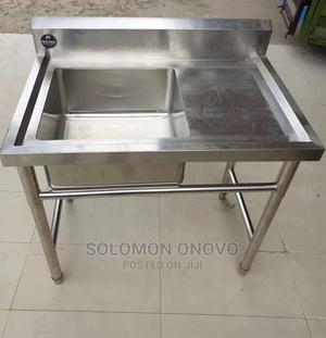 Single Sink With Extension | Kitchen Appliances for sale in Lagos State, Lagos Island (Eko)