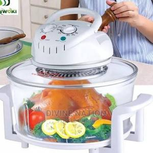 1300W Low Fat Air Fryer Halogen Oven With 15L Capacity   Kitchen Appliances for sale in Lagos State, Lagos Island (Eko)