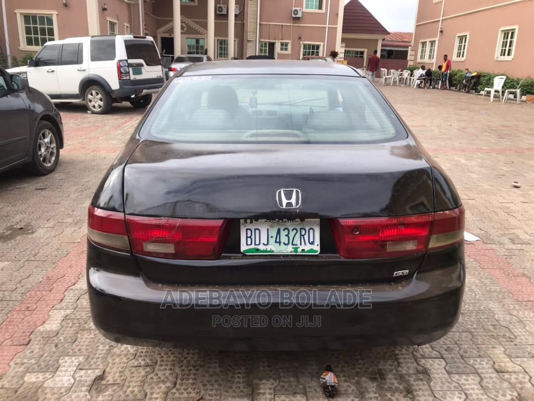 Honda Accord 2004 2.4 Type S Automatic Black | Cars for sale in Akure, Ondo State, Nigeria