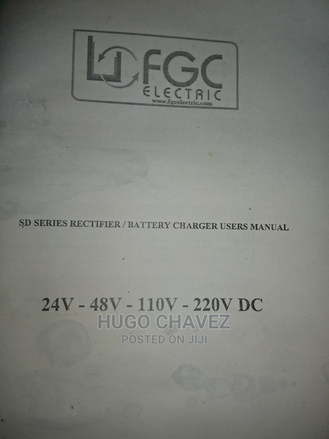 Archive: Single Phase Rectifier Battery Charger