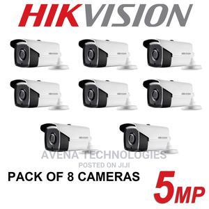 8 Pcs Outdoor Cctv Dvr Surveillance Camera | Security & Surveillance for sale in Lagos State, Ikeja