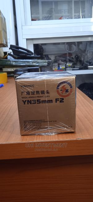Yongnou 35mm Prime Lens(For Canon) | Accessories & Supplies for Electronics for sale in Lagos State, Oshodi